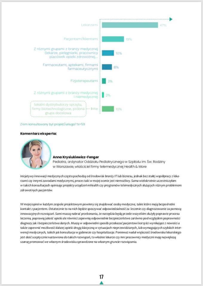 raport o startupach medycznych