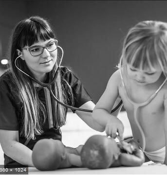 Aleksandra Urbanik badanie dziecka